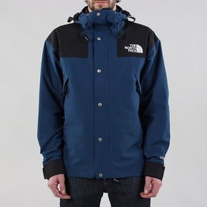 North Face Blue Wing Teal Mountain Jacket
